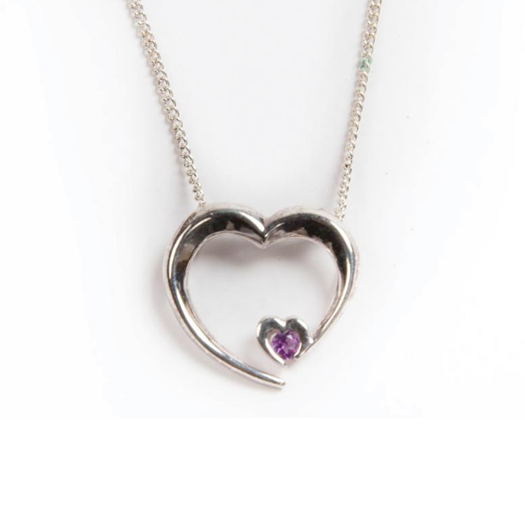WPD Heart Pendant Necklace